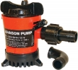 BILGE PUMP 500 GPH 3/4IN HOSE