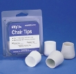 CHAIR TIPS 1IN  4/PK