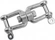 SS SWIVEL JAW & JAW 1/4IN