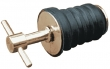 BRASS TEE HANDLE DRAIN PLUG -