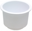 DRINK HOLDER WHITE LG RECESSED