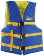 BLUE/YELL XL ADULT VEST 40-60