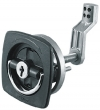 2-1/2X2-1/2 BLK FLUSH LATCH