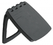 LOCK/LATCH COVER BLACK