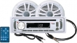 PACK REPRODUCTOR MEDIA DIGITAL AM/FM/CD/MP3/SD/AUX CON ALTAVOCES 164mm