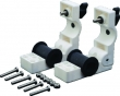 REMOVEABLE RAIL MNT CLAMP 2/PK