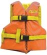 ORANGE/YELLO YOUTH VEST 25-29""
