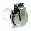 BASE ESTANCA ACERO INOXIDABLE 50A/125V